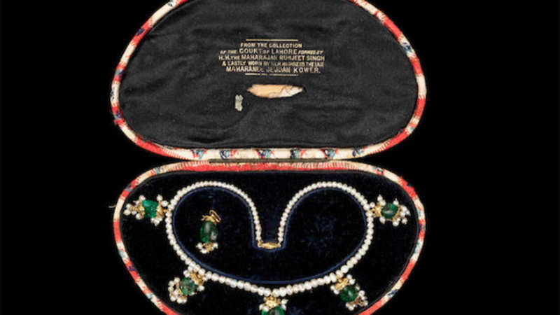 Maharani Jindan Kaur's necklace triggers bidding war at UK auction