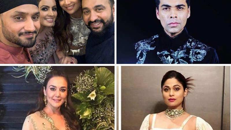 B-town in party mode: Shilpa Shetty-Raj Kundra's Diwali bash