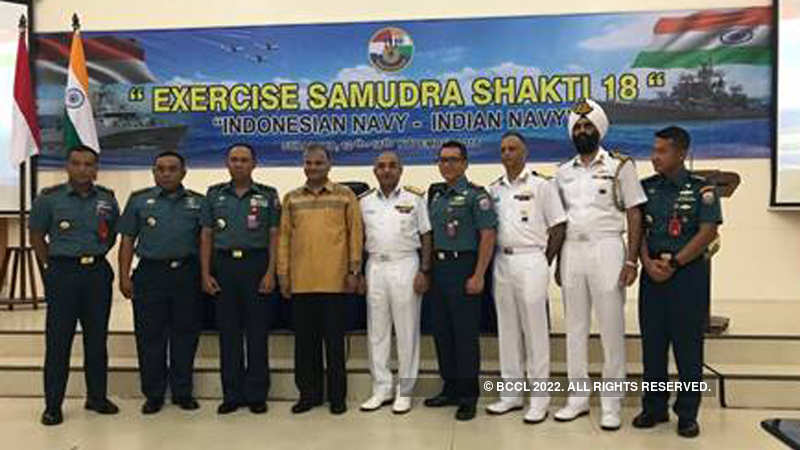India, Indonesia launch their maiden naval exercise - The