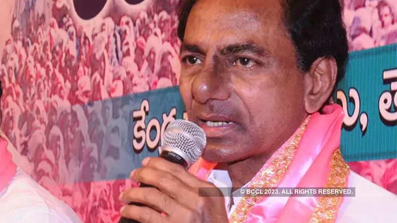 Telangana polls: K Chandrasekhar Rao files nomination from