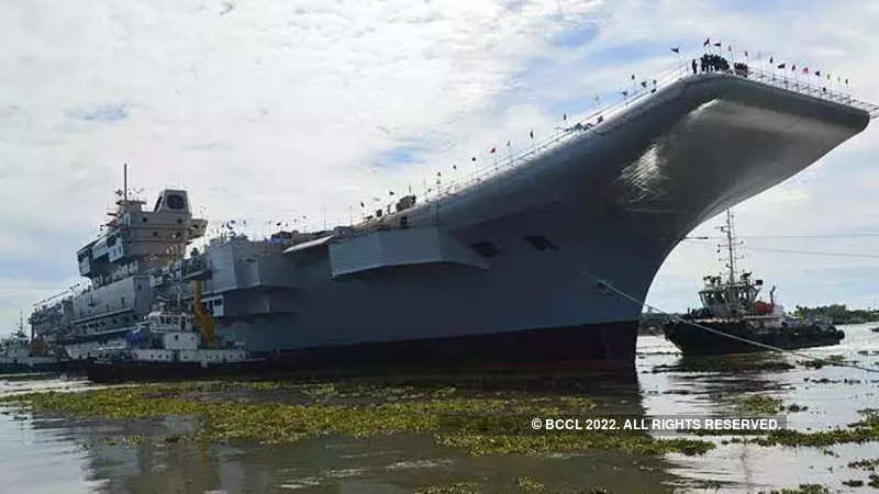 Indian Navy: Indigenous Aircraft Carrier-1 to be inducted into