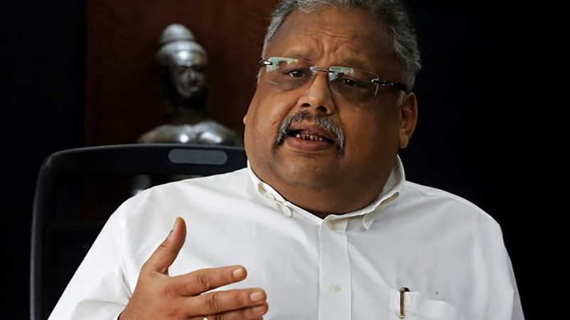 Rakesh Jhunjhunwala: 98% money is made in the market by being a bull