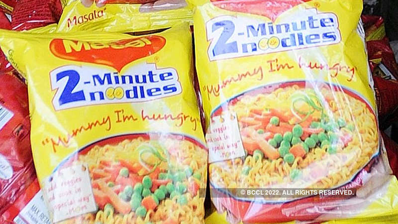 Lead is everywhere but not in our noodles: Maggi - The Economic Times