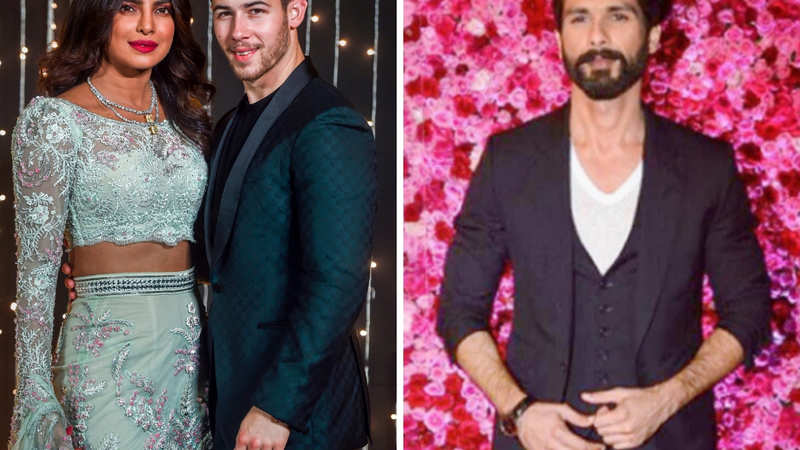 Shahid Kapoor has some advice for Nick Jonas about Priyanka Chopra