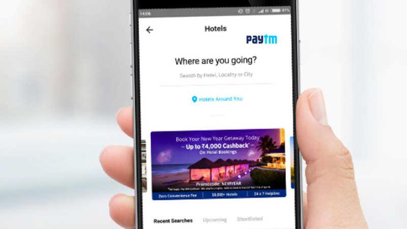 Vijay Shekhar Sharma: Paytm enters hotel booking business
