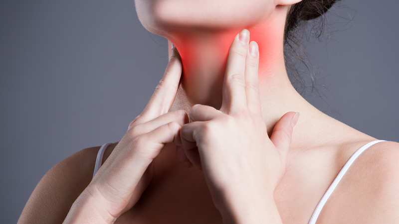 Persistent sore throat & hoarseness? It could be a warning