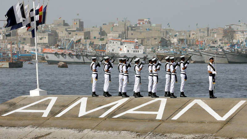 Five-day multinational maritime exercise begins in Pakistan - The