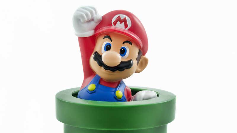 Super Mario Bros : A vintage, unopened copy of Super Mario