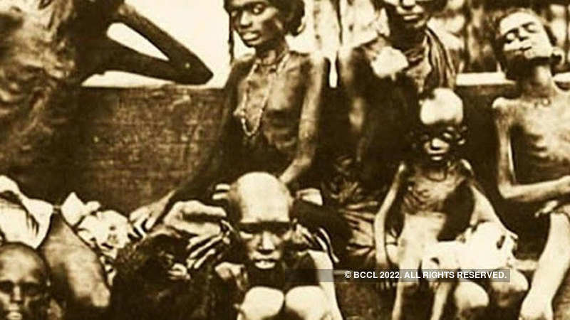 Bengal famine of 1943 caused by British policy failure, not drought