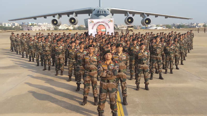 Indian Army: India, Sri Lanka hold joint military drill to