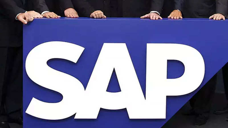 SAP to house data of Indian users locally - The Economic Times