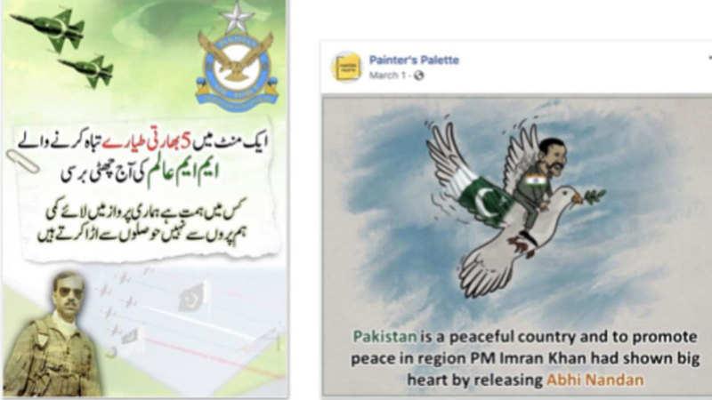 Pakistan military: Facebook takes down Pakistan military