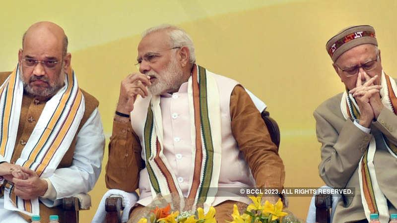 L K Advani: ET View: Modi's approval of Advani's 'being anti-BJP is