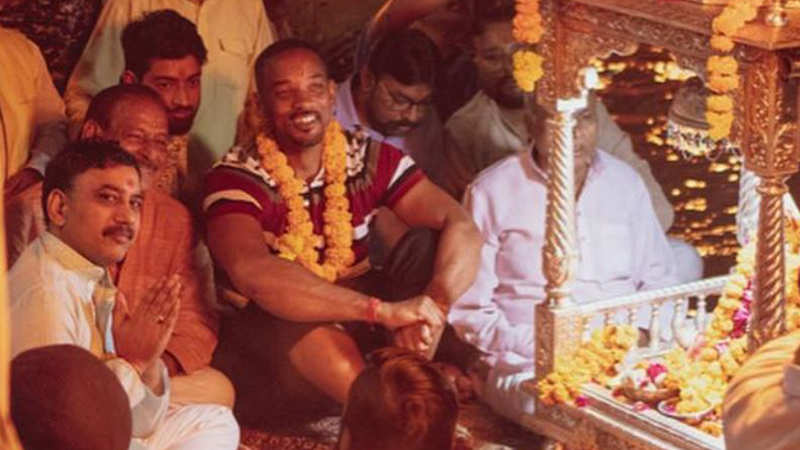 Roots of India: Will Smith visits Haridwar, takes part in