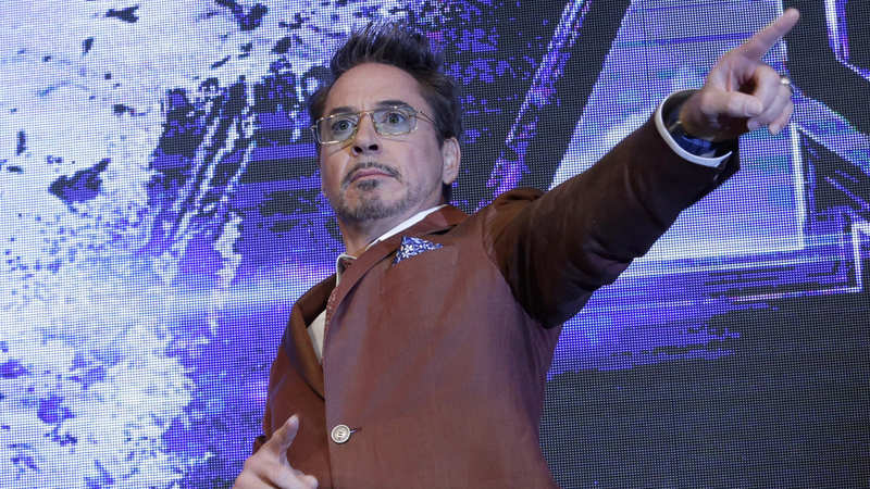 Robert Downey Jr video conferences with fans in India