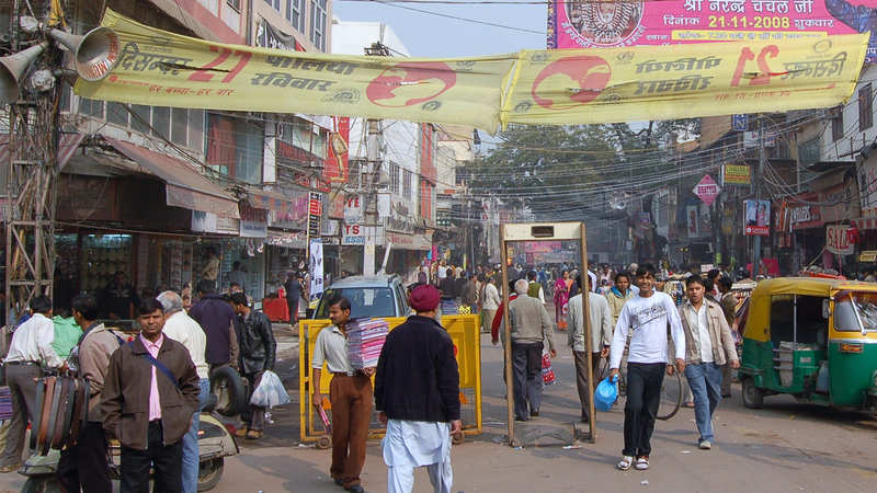 Delhi's Tank Road one of the most notorious markets selling
