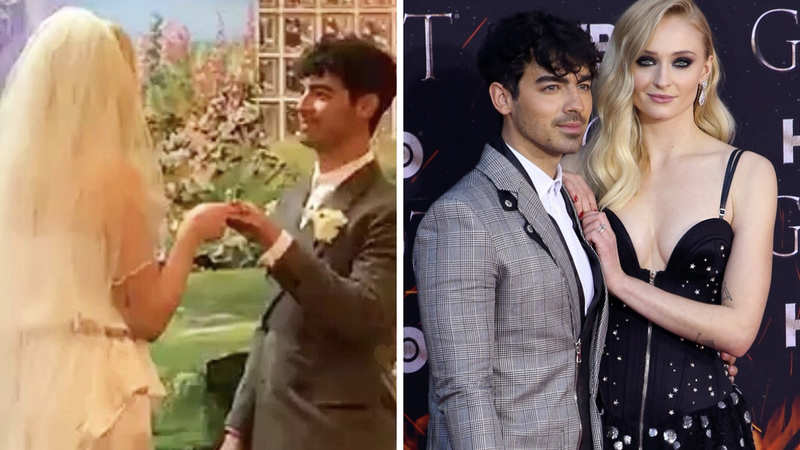 Sophie Turner Wedding.Joe Jonas After A Surprise Wedding In Las Vegas Joe Jonas And