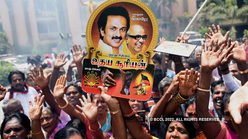 DMK triumphs, AIADMK retains power in Tamil Nadu - The Economic Times