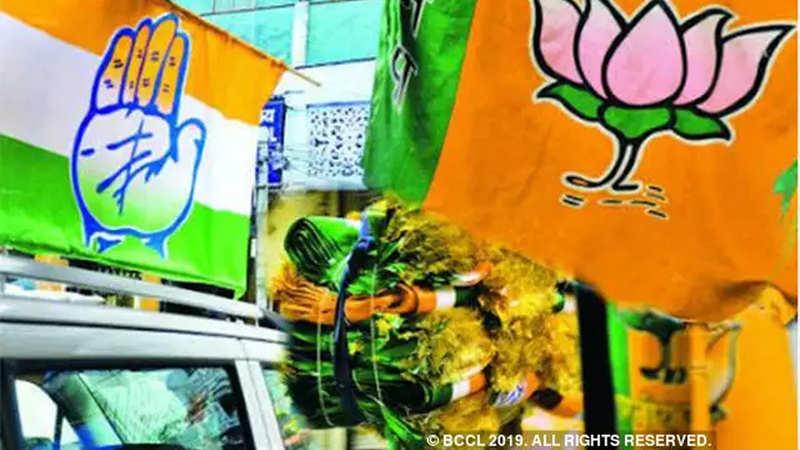 BJP: BJP scores big in three Hindi heartland states that Congress