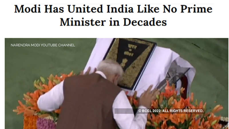 Narendra Modi: After 'India's divider in chief', Time