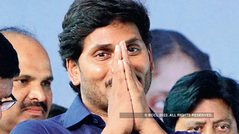 Jaganmohan Reddy announces Rs 3,000 monthly pension for