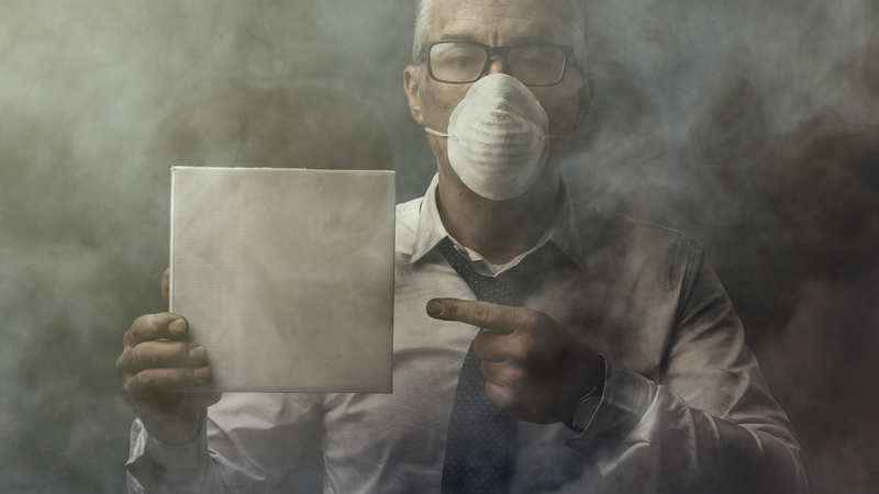 COPD: Working in a dusty environment? Watch out for risk of