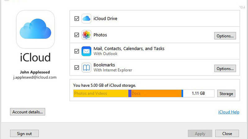 Windows 10 users can now download Apple's iCloud from Microsoft