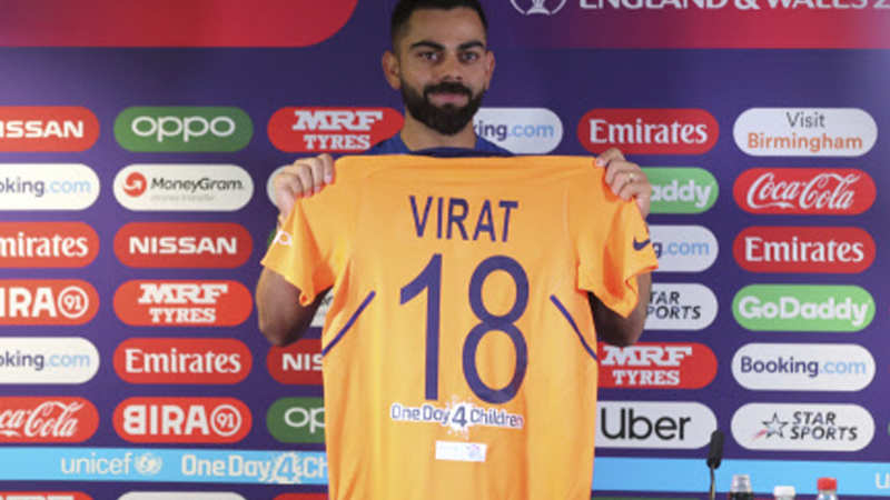 Virat Kohli Indian Cricketers To Sport Orange Jersey In England