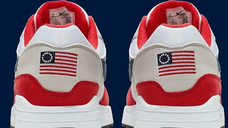 7b1c8eec Nike's 'flag' sneakers stir political outrage in US, footwear brand ...