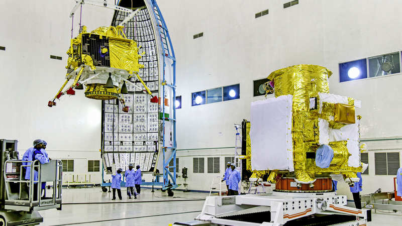 Components of Chandrayaan-2 modules manufactured in