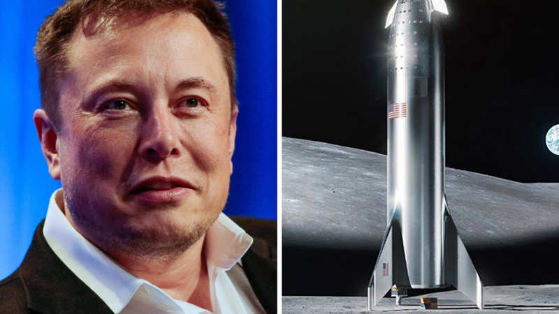 elon musk: The lunar expedition: Elon Musk envisions SpaceX