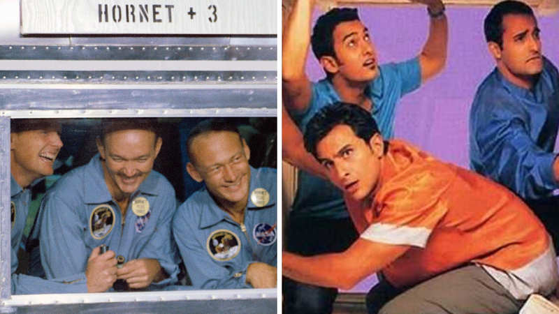 Trio On A Trip Similarities Between Apollo 11 And Dil Chahta Hai