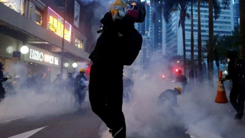 We are still here': Hong Kong protesters back on streets - The