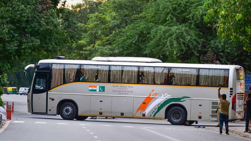 Delhi-Lahore bus service cancelled: DTC - The Economic Times