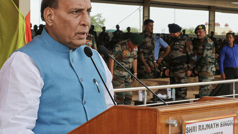 Image result for rajnath singh on army action on POK