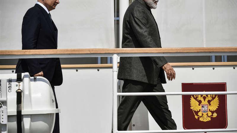 Modi in Russia: India promotes long-term big-ticket