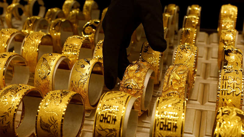 Gold price   Gold Rate Today: Gold prices fall on rise in