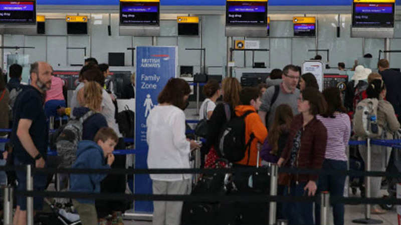 British Airways says almost all UK flights cancelled over