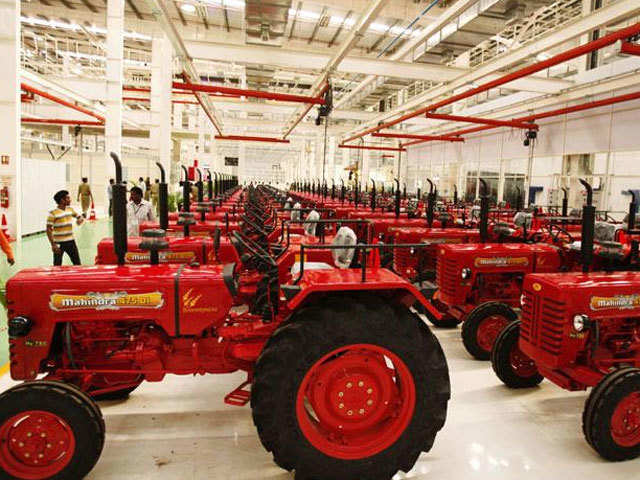 mahindra tractor: M&M's tractor business looking good, but limited