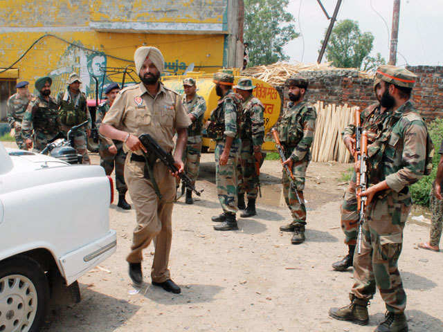 Gurdaspur Attack Government May Seal Punjab Pakistan River Routes
