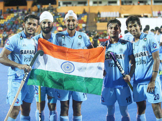 0f5c1f0e1 Hockey India announces NTPC as sponsor - The Economic Times