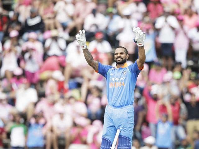 05adb84efa2 Shikhar Dhawan becomes first Indian to score ton in 100th ODI - The ...