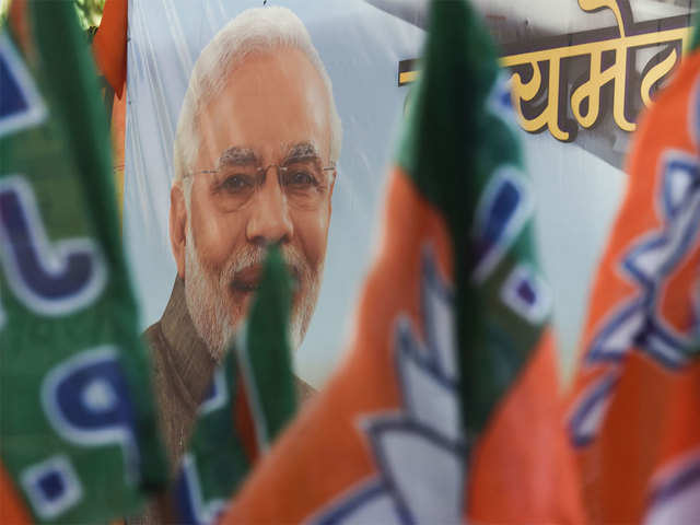 Sena takes jibe at BJP's claim of winning 43 LS seats in Maharashtra