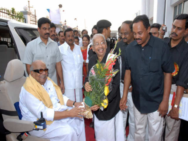 about dmk party