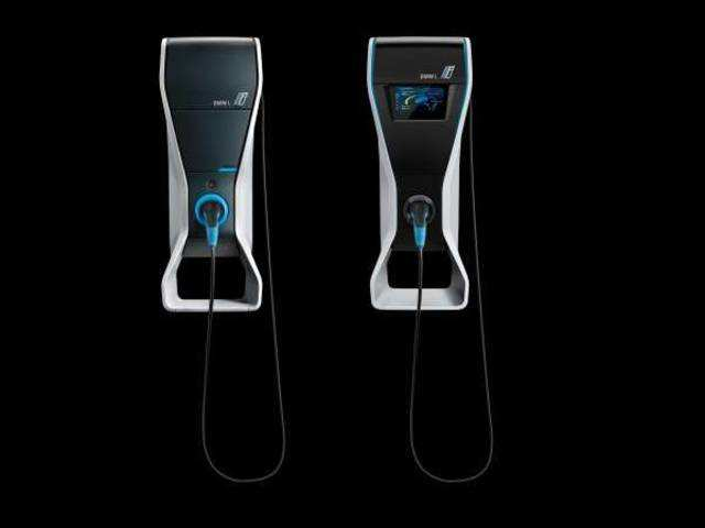 Bmw Unveils I Wallbox Pro Home Charging Station For Evs