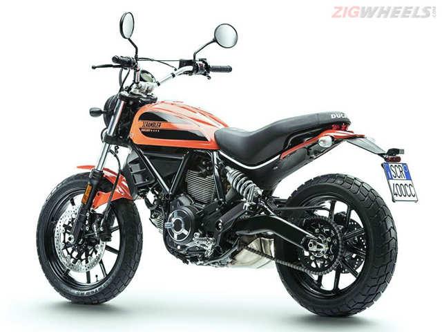 Ducati Unveils India Bound Scrambler Sixty2 The Economic Times