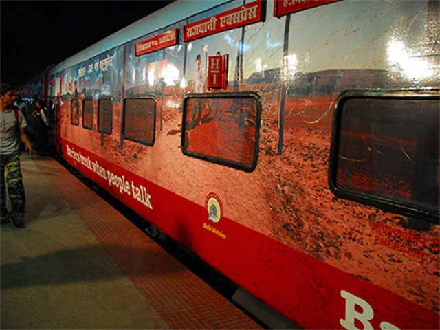 Railways' earnings up by over 12 per cent - The Economic Times