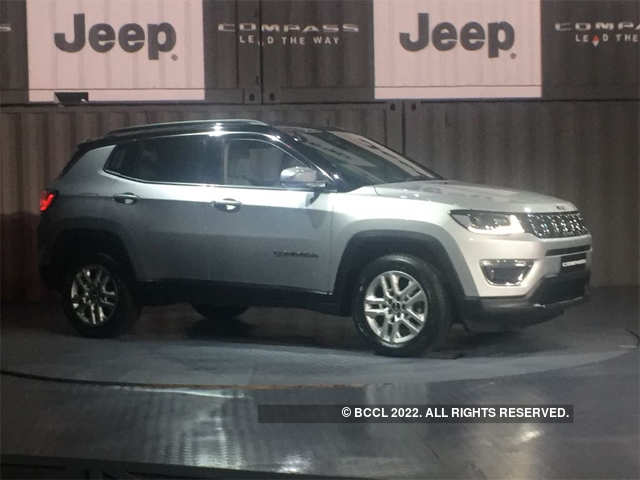 Jeep Compass Jeep Compass Suv Launched In India At 14 95 Lakh