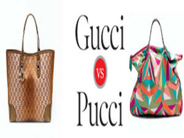 3aaf32804c3f QUICK TIP: Both are Italian fashion houses but Gucci is worn to big-ticket  red carpet functions and Pucci is more of a party line