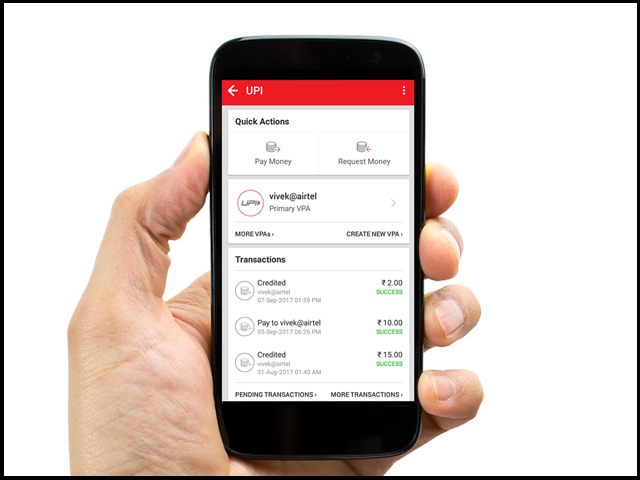 Airtel Payments Bank UPI – the easiest and fastest way to transfer